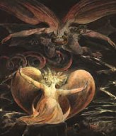 The Red Dragon and the Woman Clothed by the Sun - William Blake